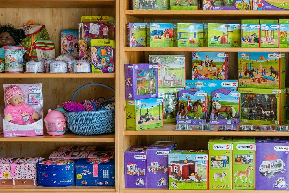 Spielsachen für die Jüngsten