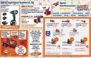 Spiel- & Gartencenter Achental - Herbstprospekt