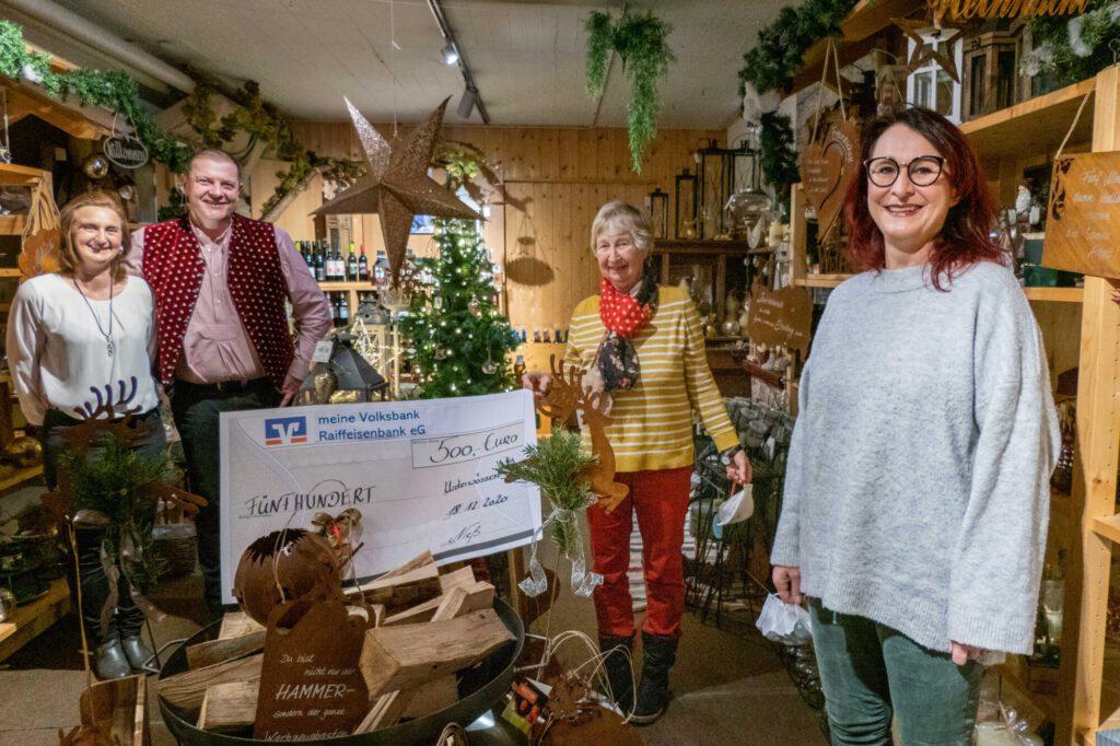 Spiel- und Gartencenter spendet an Wössner Regenbogen und Inobhutnahmestelle Litzelau